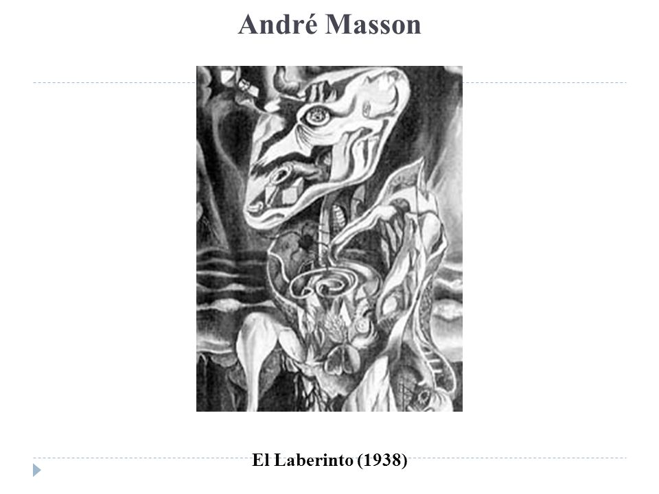 André Masson El Laberinto (1938)