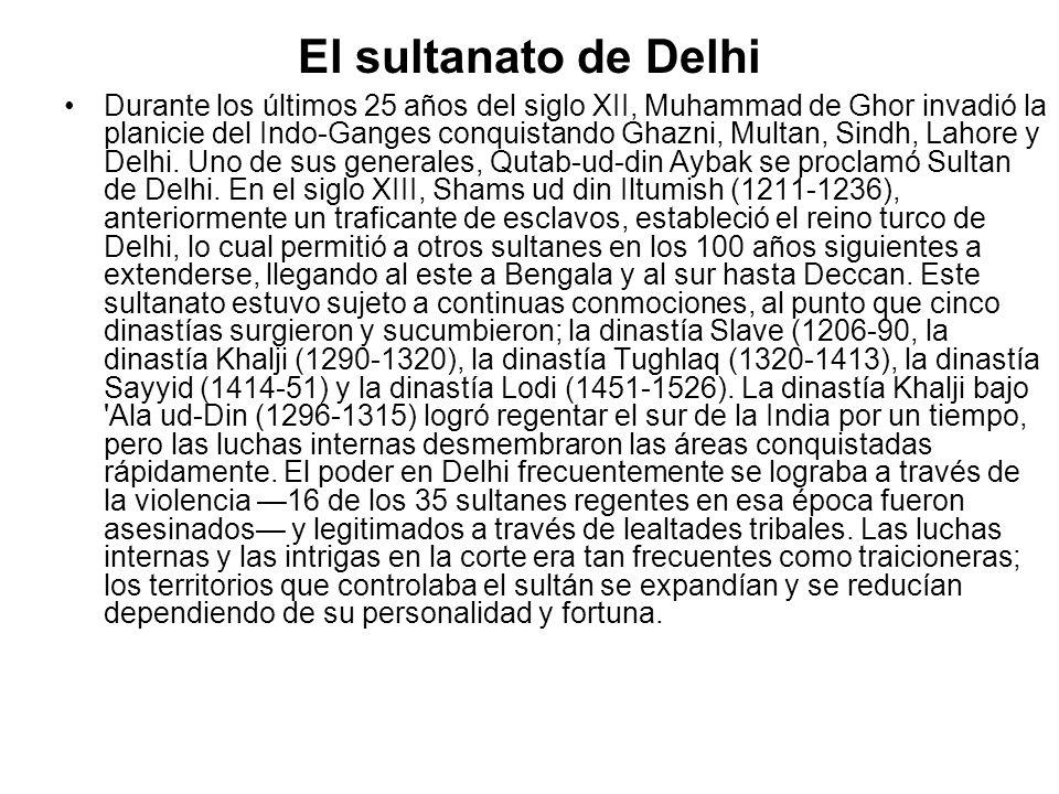 El sultanato de Delhi