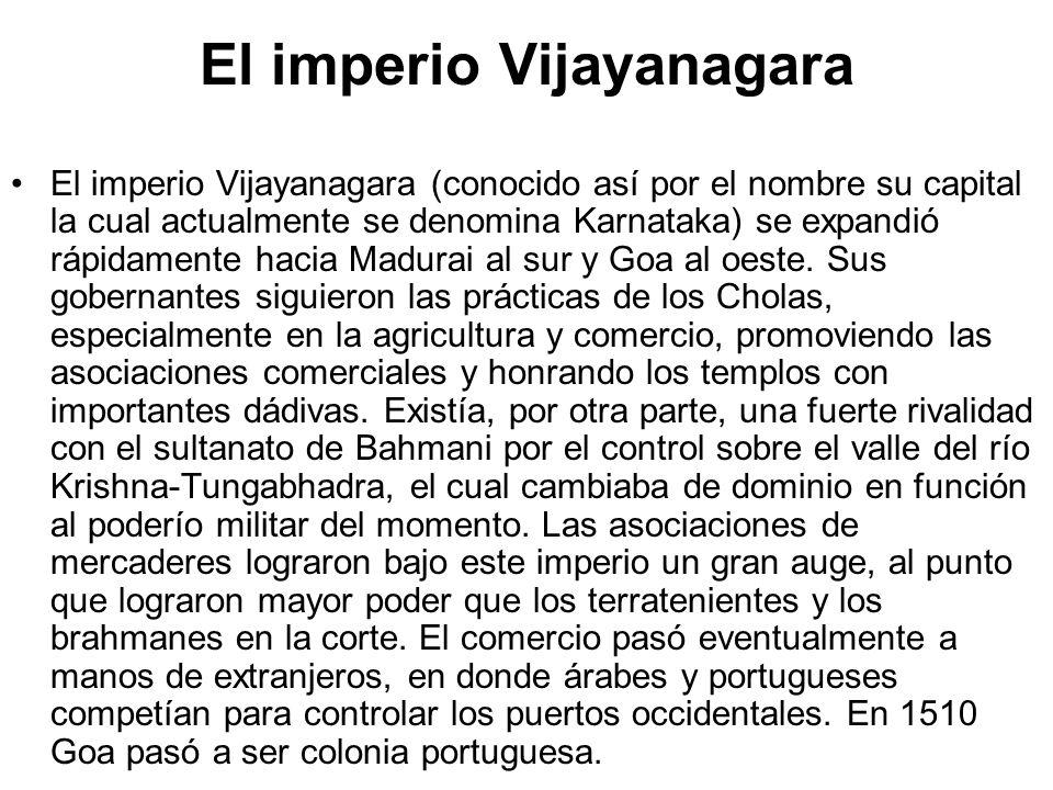 El imperio Vijayanagara