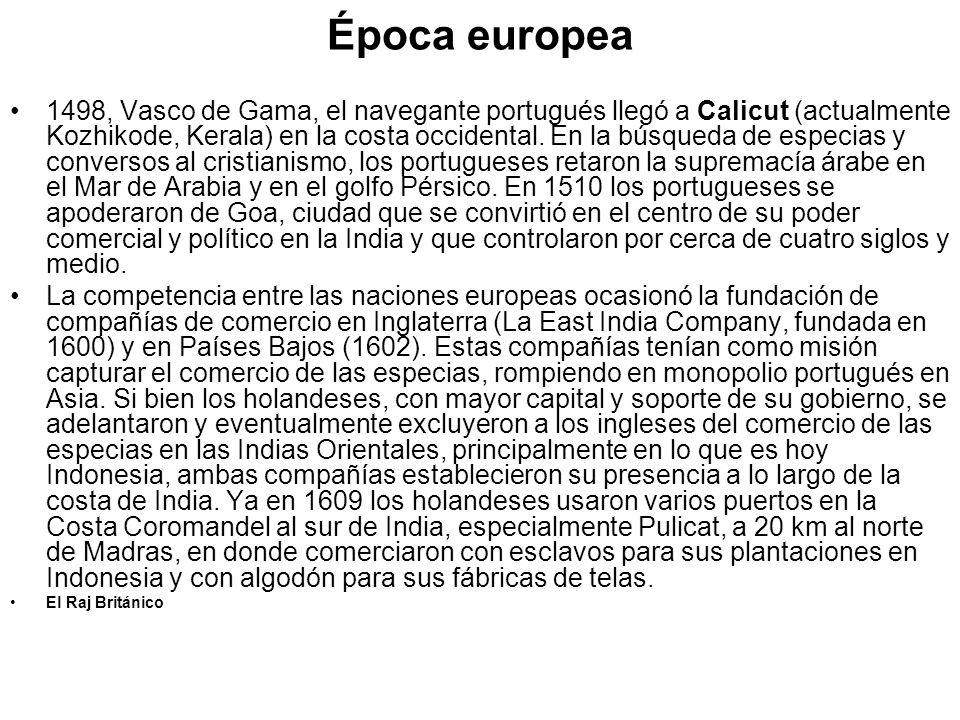 Época europea