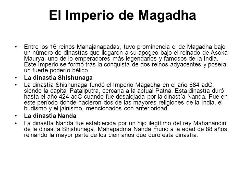 El Imperio de Magadha