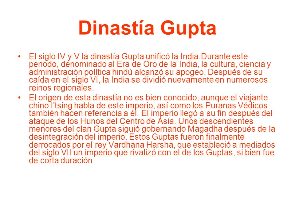 Dinastía Gupta