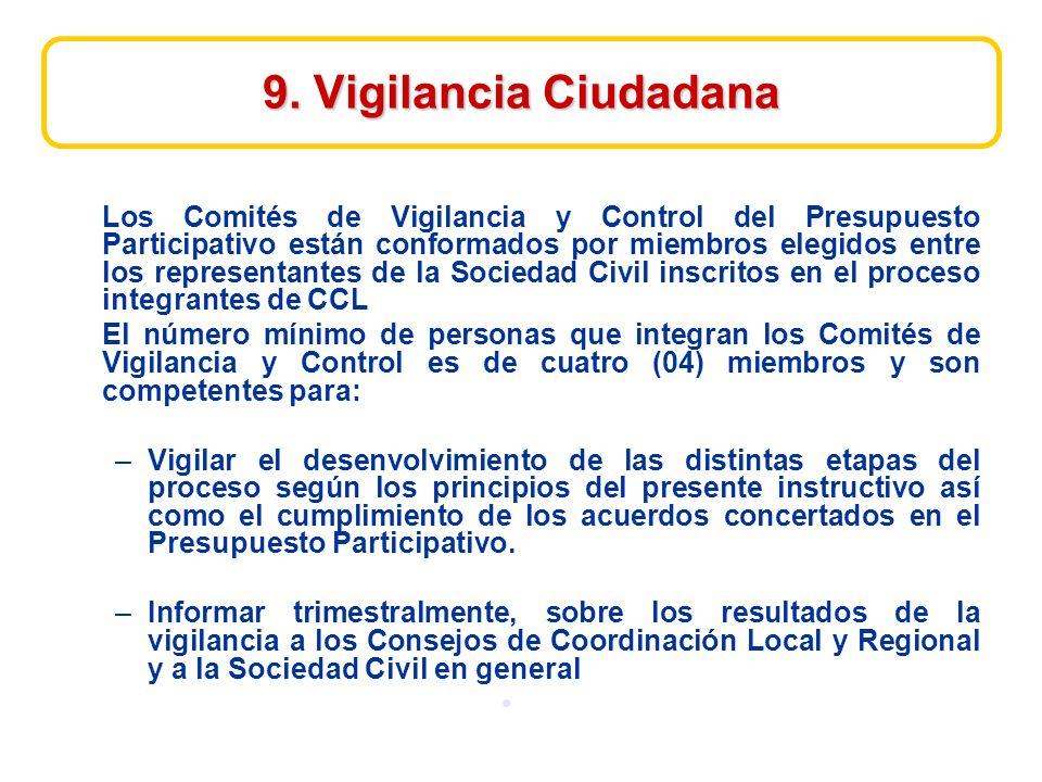 9. Vigilancia Ciudadana