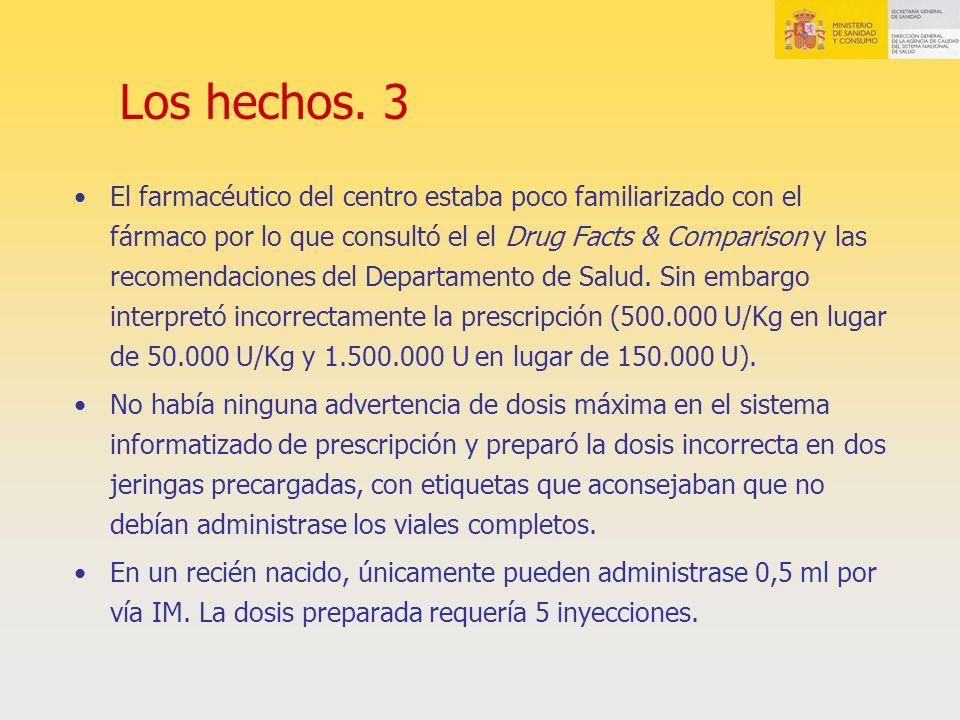 Los hechos. 3