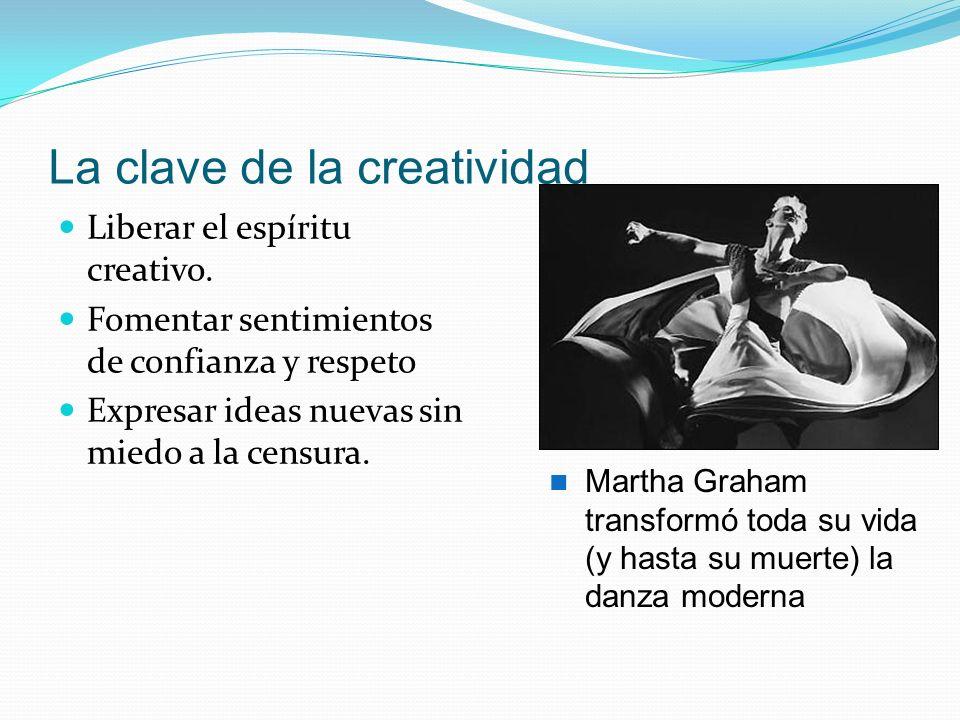 La clave de la creatividad