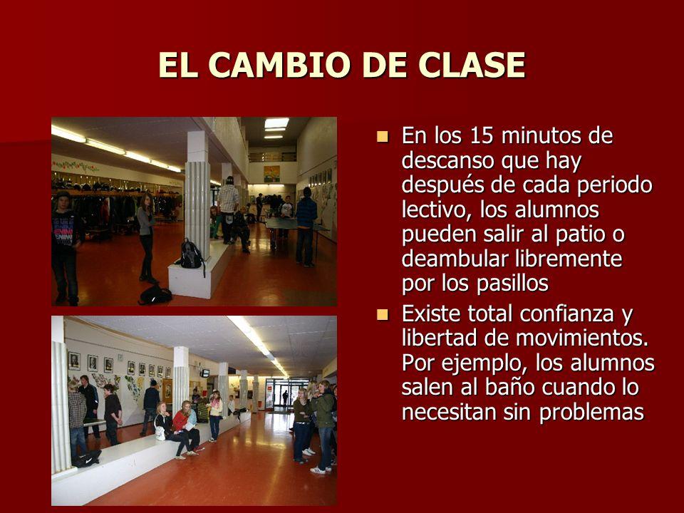 EL CAMBIO DE CLASE