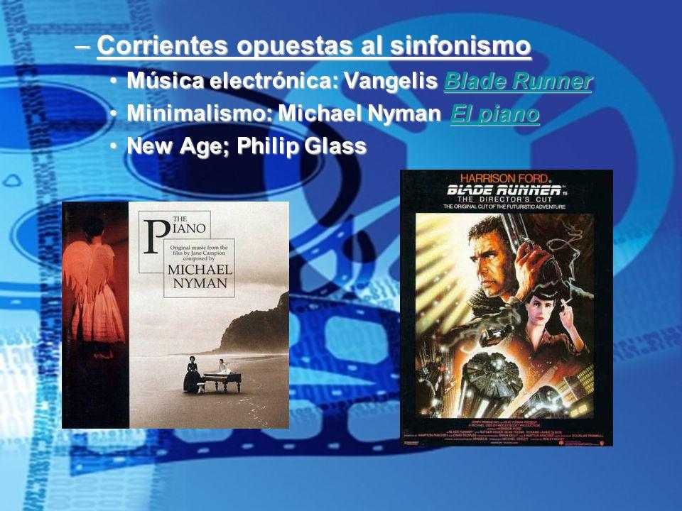 Corrientes opuestas al sinfonismo
