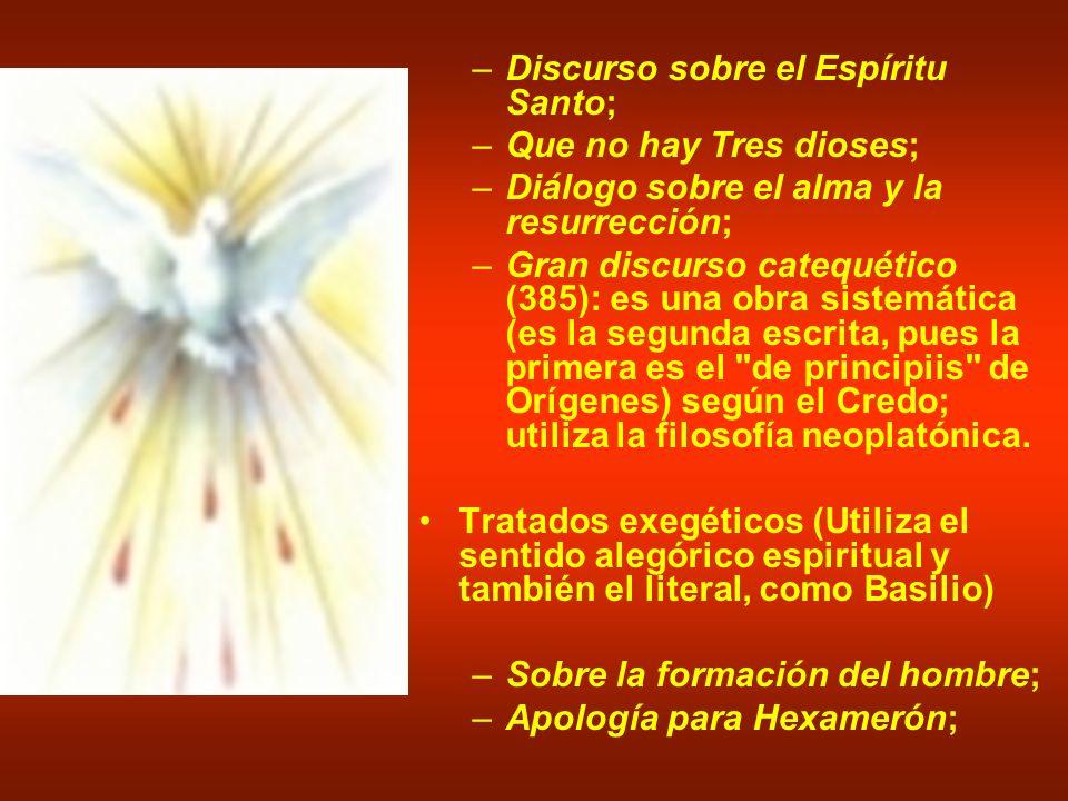 Discurso sobre el Espíritu Santo;