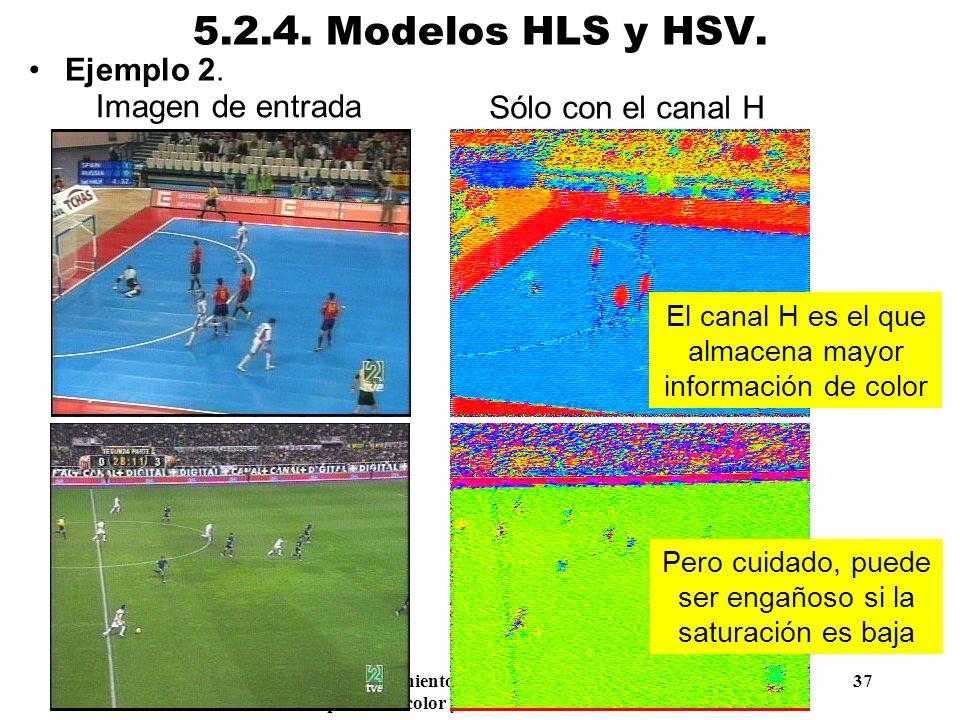 5.2.4. Modelos HLS y HSV. Ejemplo 2. Imagen de entrada