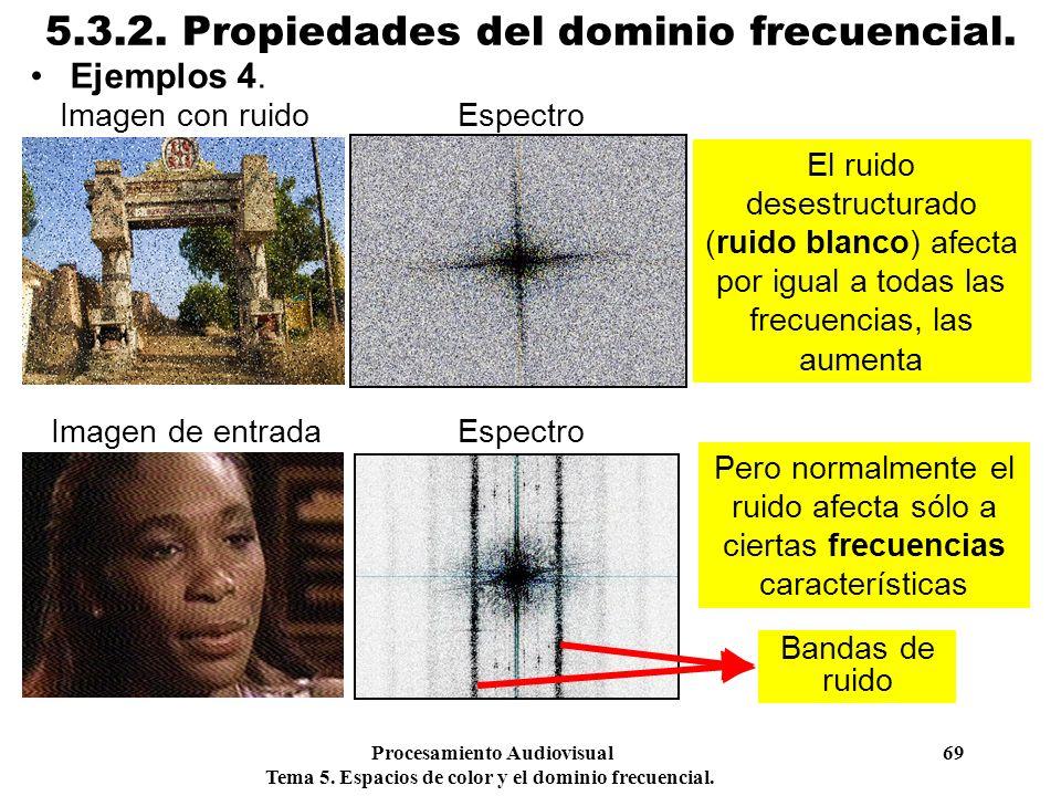 5.3.2. Propiedades del dominio frecuencial.