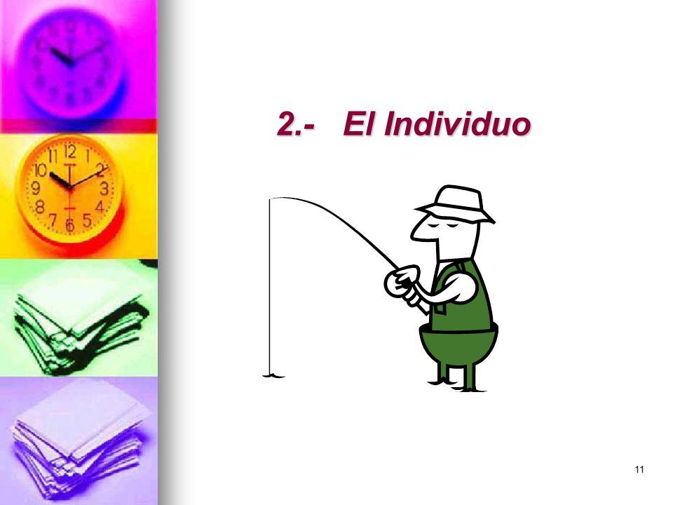 2.- El Individuo