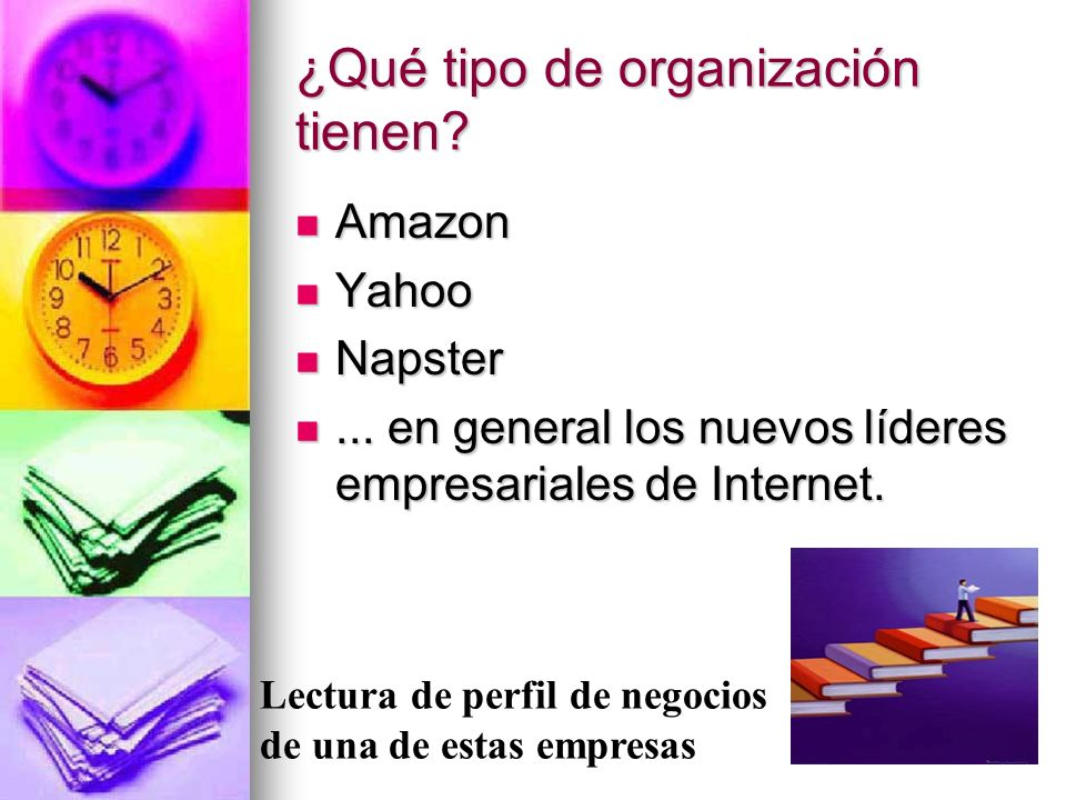 ¿Qué tipo de organización tienen