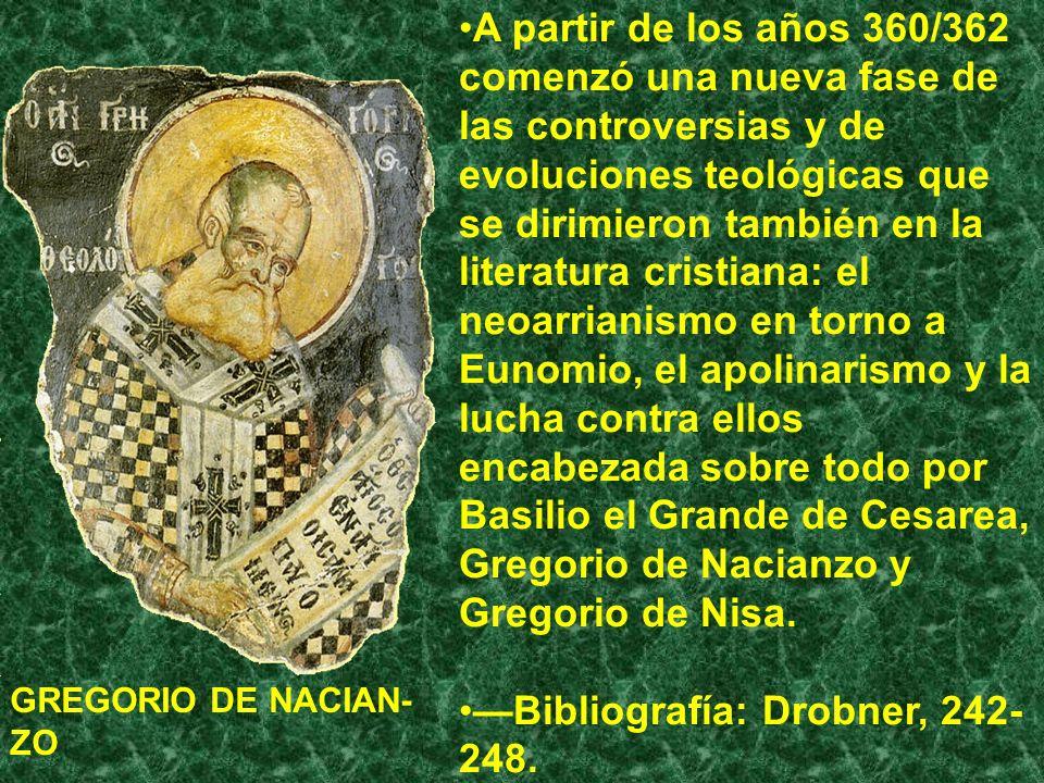 —Bibliografía: Drobner, 242-248.