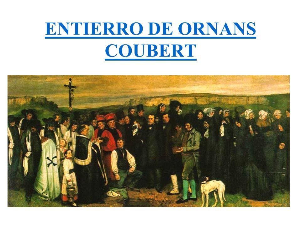 ENTIERRO DE ORNANS COUBERT