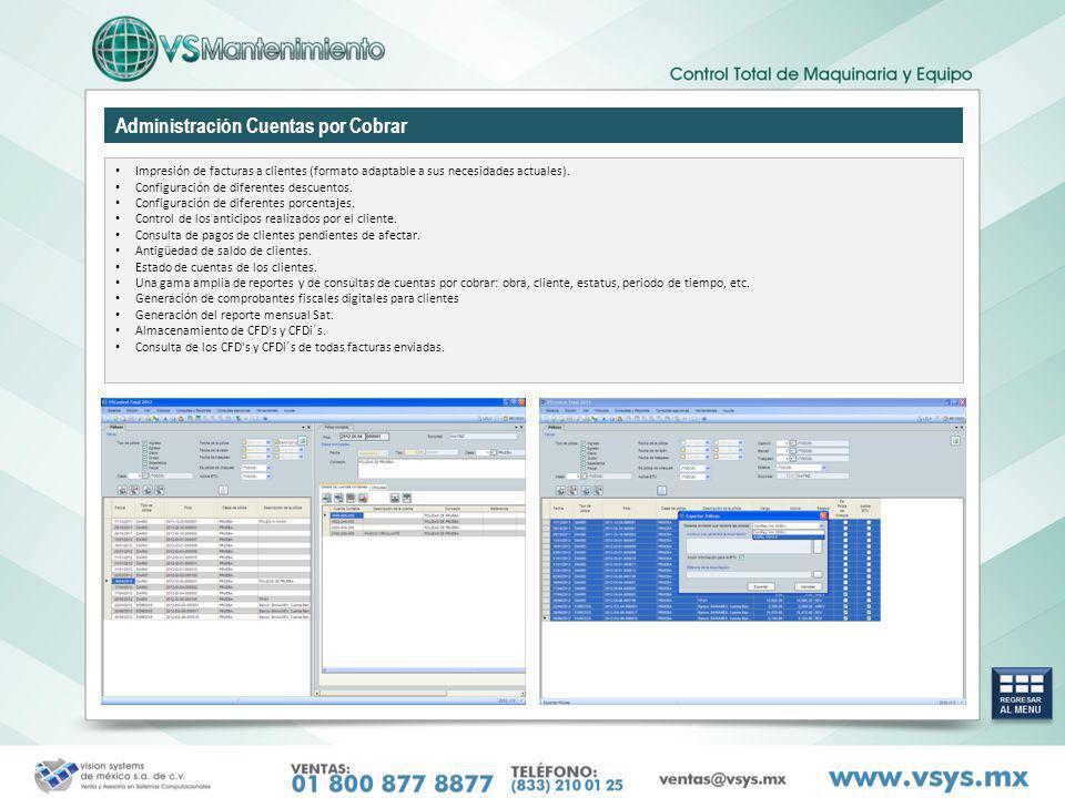 Administración Cuentas por Cobrar
