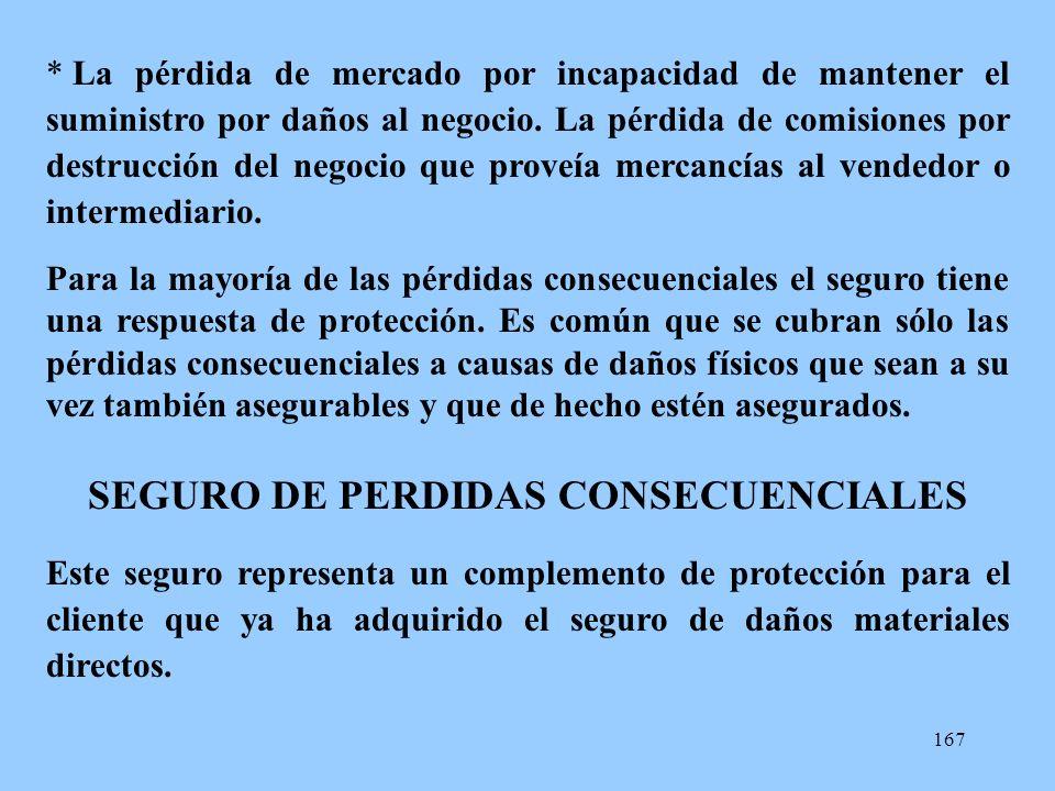 SEGURO DE PERDIDAS CONSECUENCIALES
