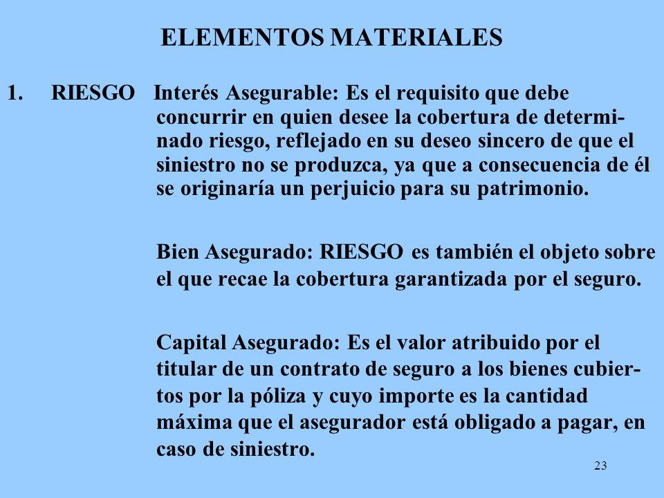 ELEMENTOS MATERIALES