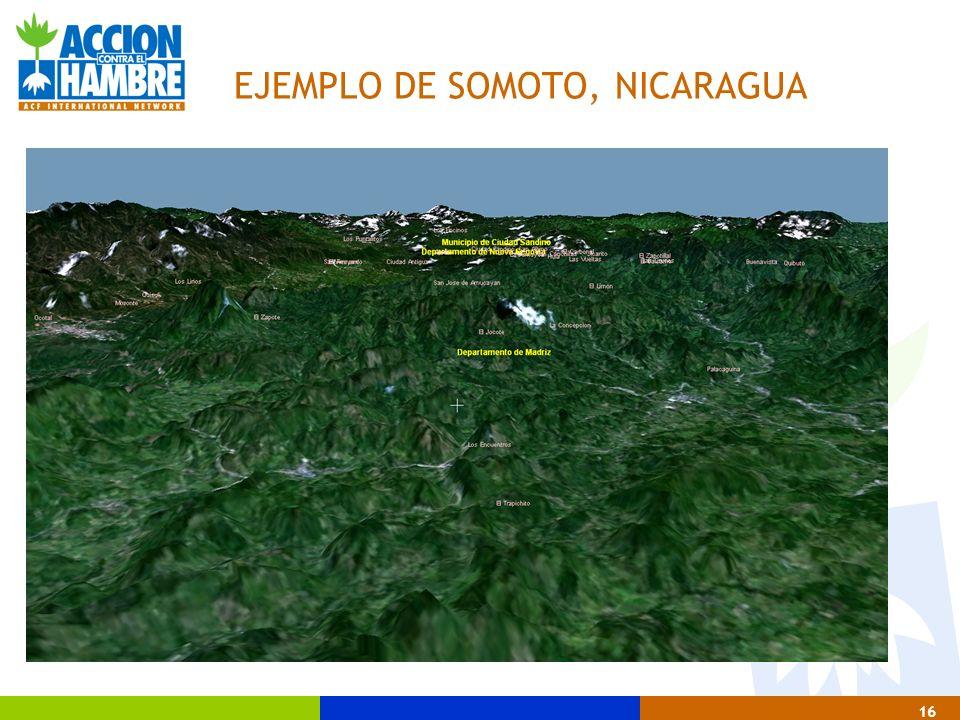 EJEMPLO DE SOMOTO, NICARAGUA