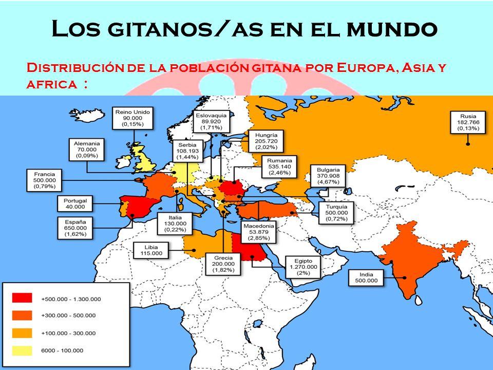 Los gitanos/as en el mundo