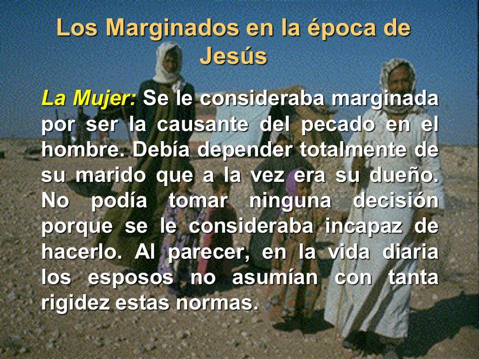Los Marginados en la época de Jesús