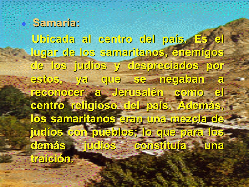 Samaria: