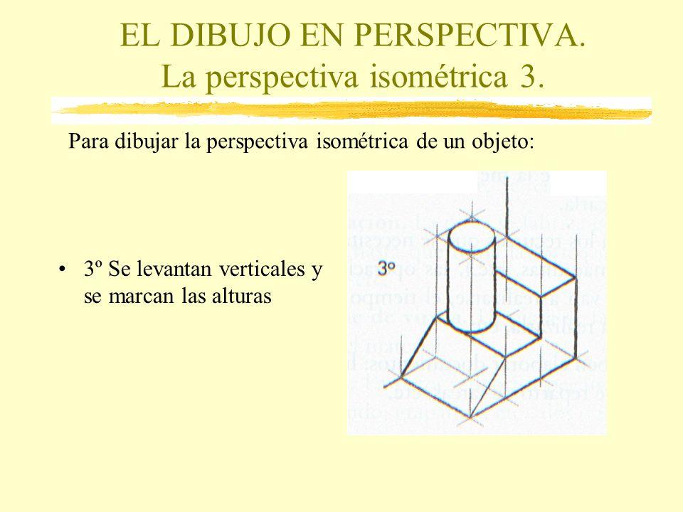 EL DIBUJO EN PERSPECTIVA. La perspectiva isométrica 3.