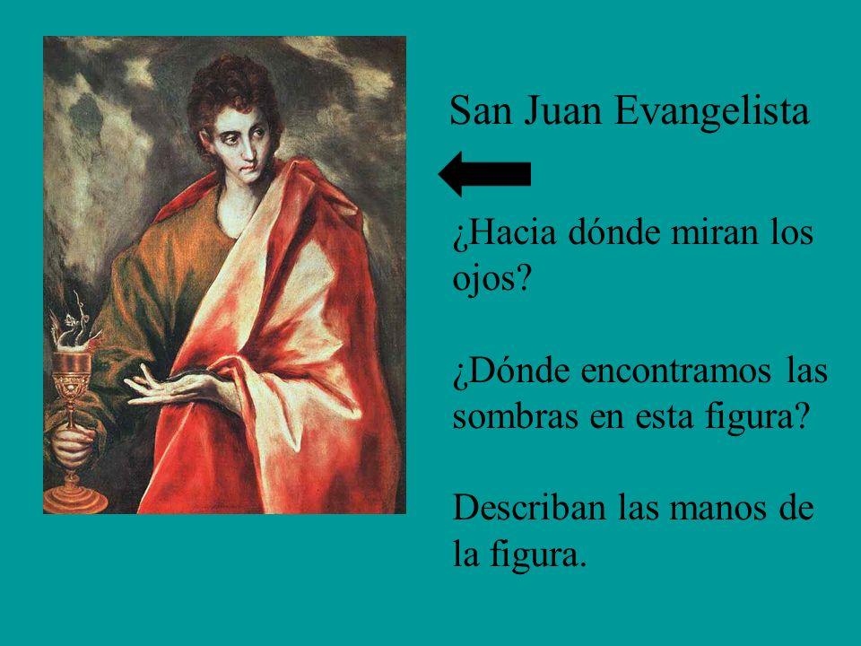 San Juan Evangelista ¿Hacia dónde miran los ojos