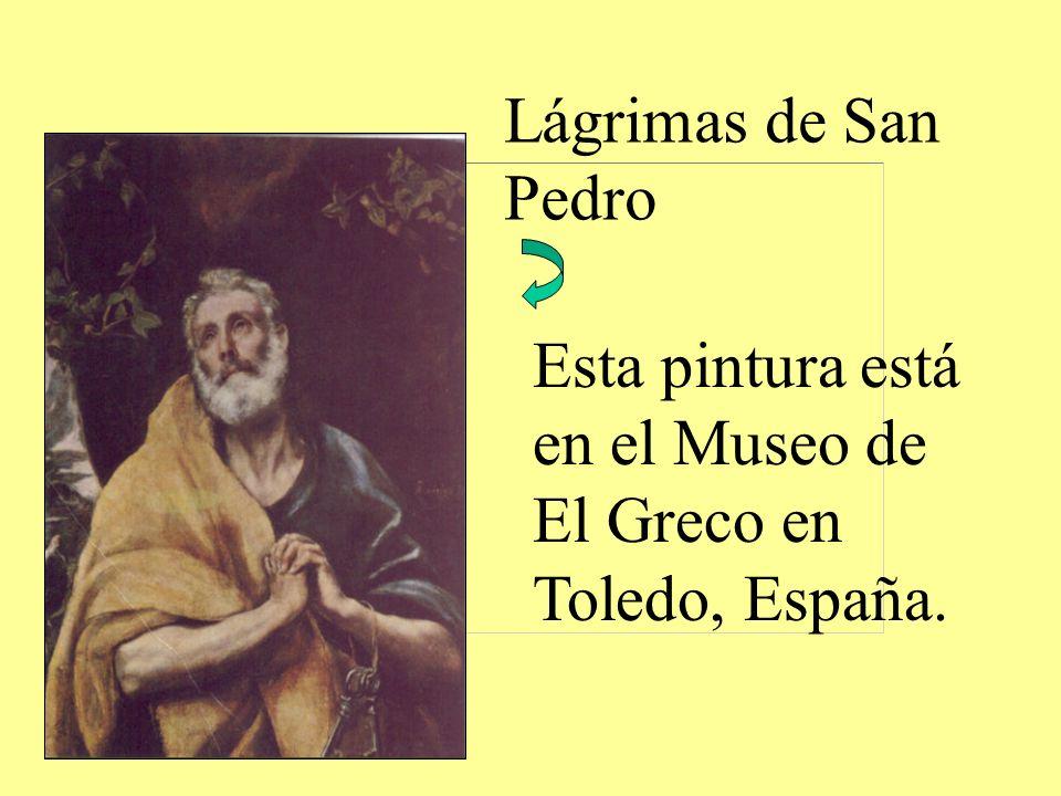 Esta pintura está en el Museo de El Greco en Toledo, España.