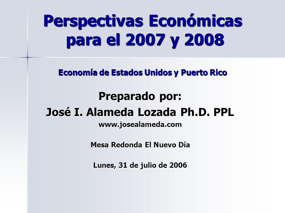 José I. Alameda Lozada Ph.D. PPL Mesa Redonda El Nuevo Día