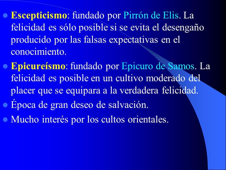 Escepticismo: fundado por Pirrón de Elis