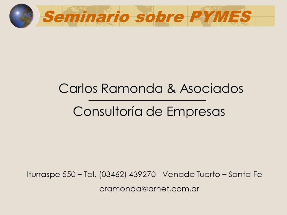 Seminario sobre PYMES Carlos Ramonda & Asociados