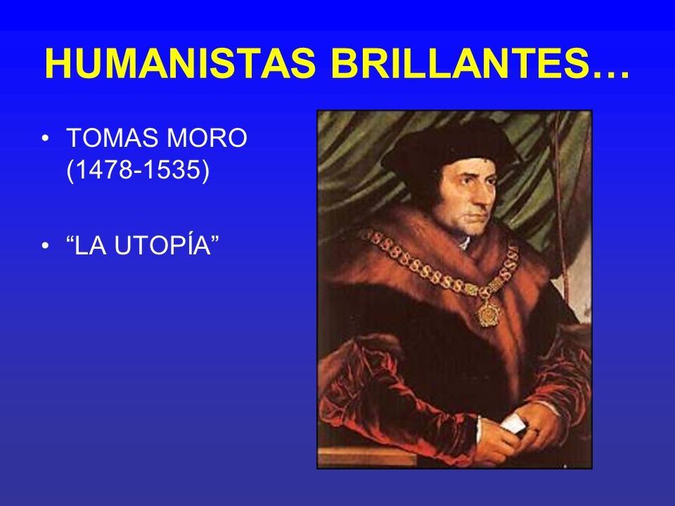 HUMANISTAS BRILLANTES…