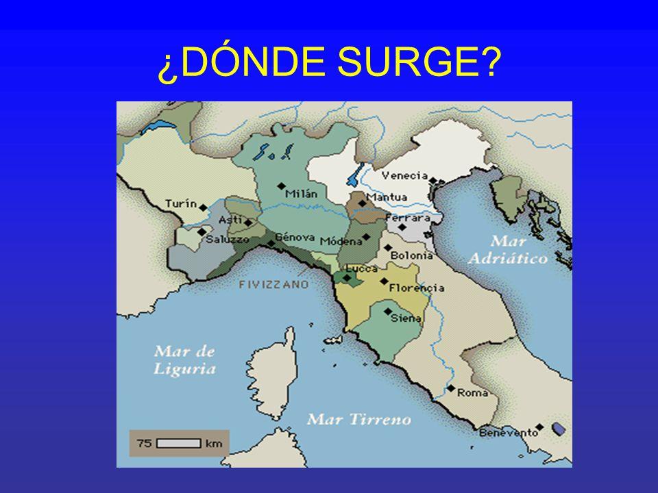 ¿DÓNDE SURGE
