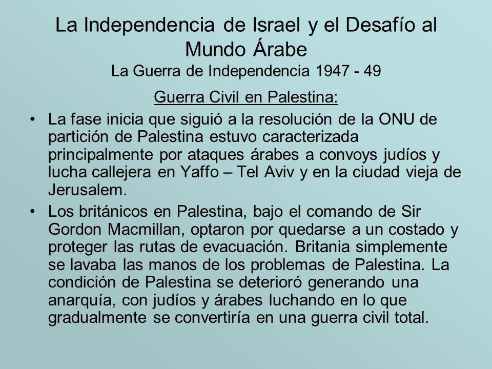 Guerra Civil en Palestina: