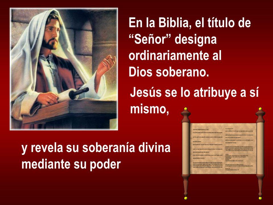 En la Biblia, el título de