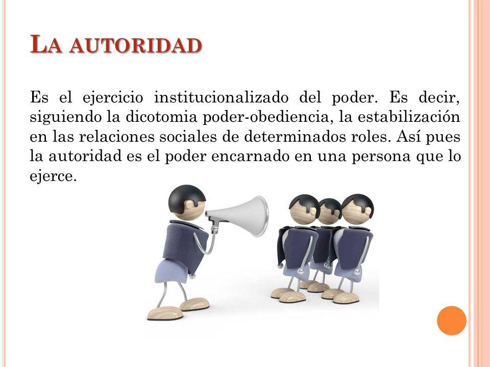 La autoridad