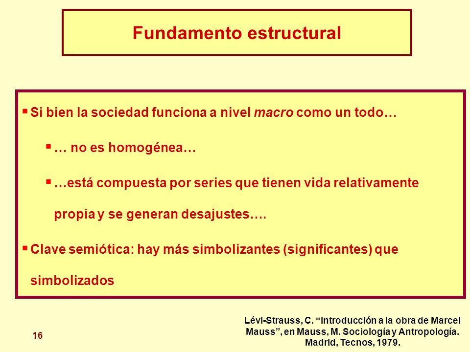 Fundamento estructural