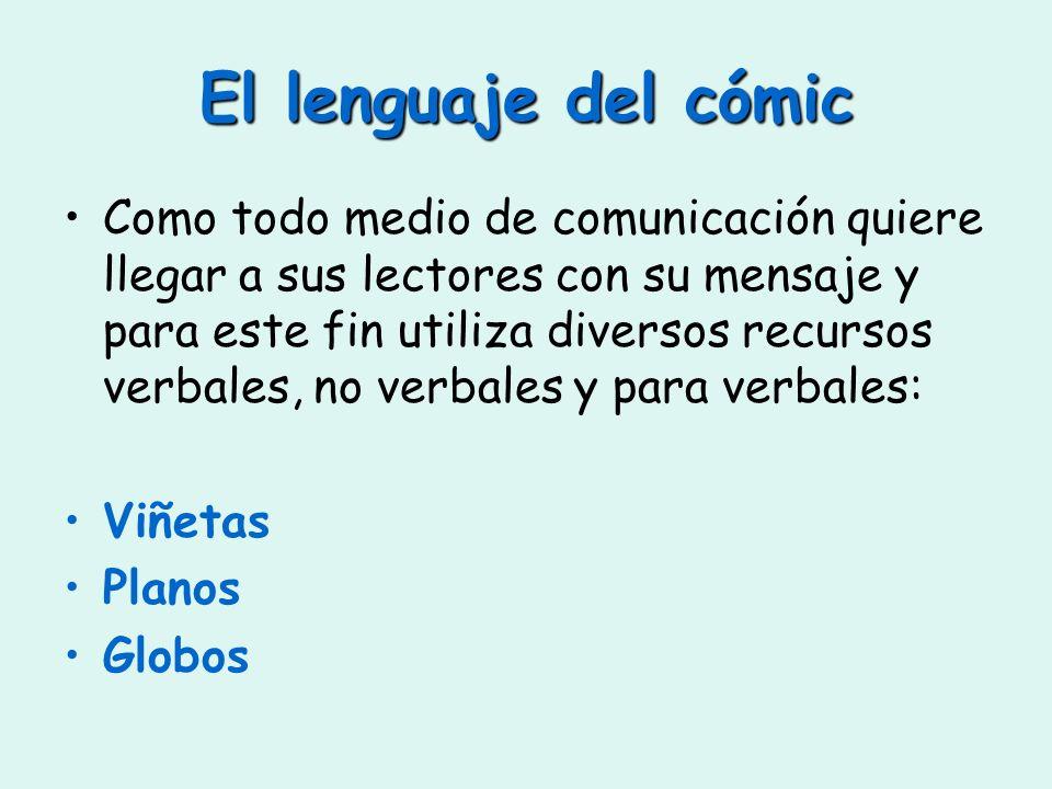 El lenguaje del cómic