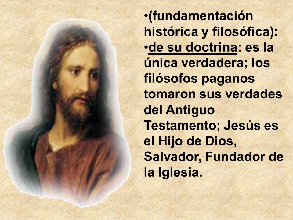 (fundamentación histórica y filosófica):