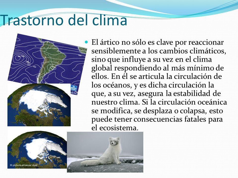 Trastorno del clima