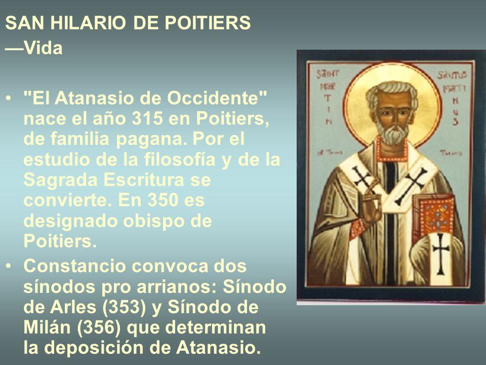 SAN HILARIO DE POITIERS