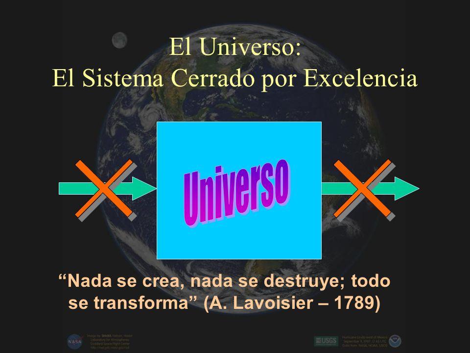 El Universo: El Sistema Cerrado por Excelencia