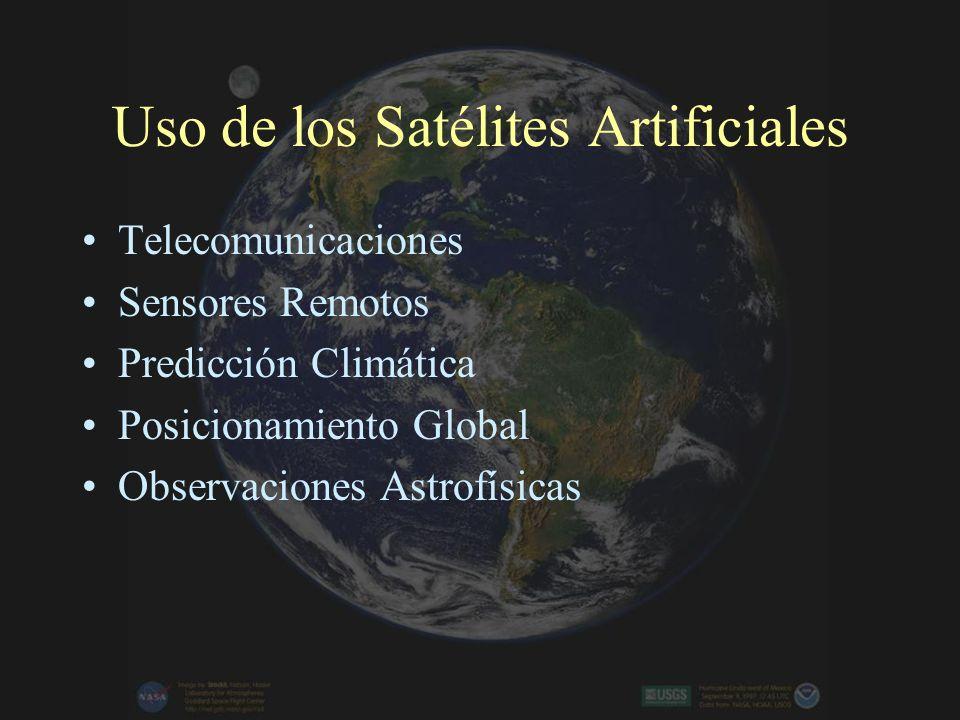 Uso de los Satélites Artificiales