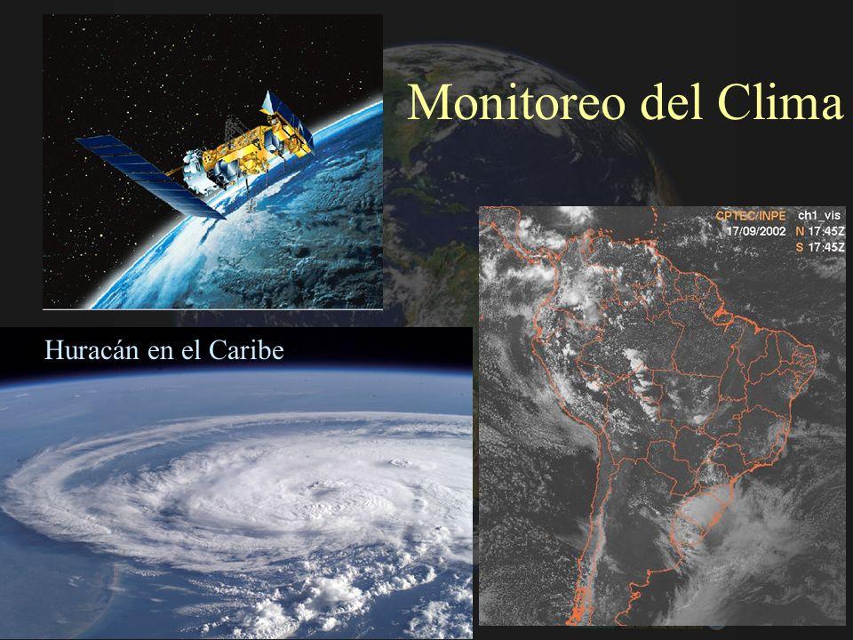 Monitoreo del Clima Huracán en el Caribe