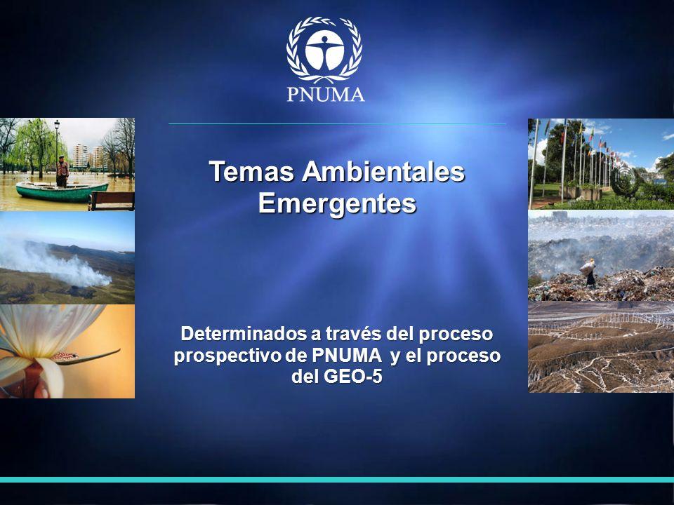 Temas Ambientales Emergentes