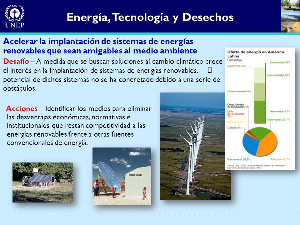Energía, Tecnología y Desechos