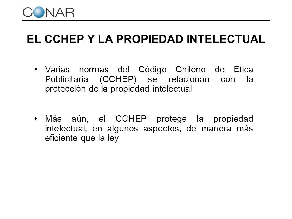 EL CCHEP Y LA PROPIEDAD INTELECTUAL