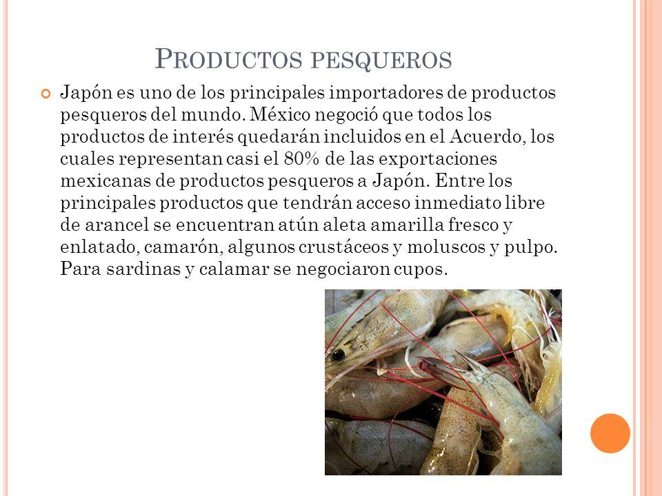 Productos pesqueros
