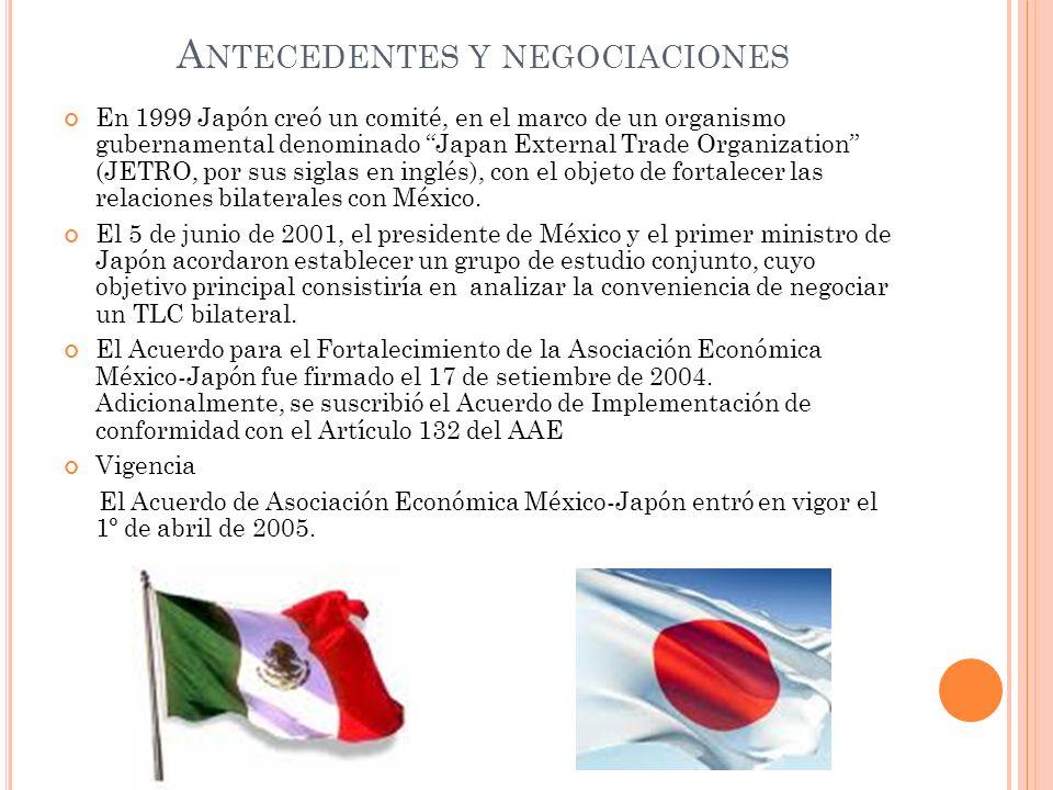 Antecedentes y negociaciones