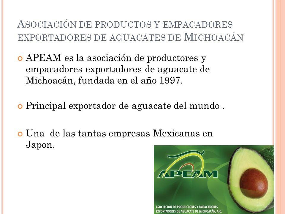 Asociación de productos y empacadores exportadores de aguacates de Michoacán